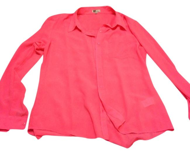 Preload https://img-static.tradesy.com/item/1488917/kut-from-the-kloth-pink-none-blouse-size-12-l-0-0-650-650.jpg