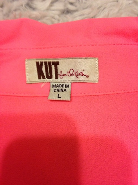 KUT from the Kloth Top Pink