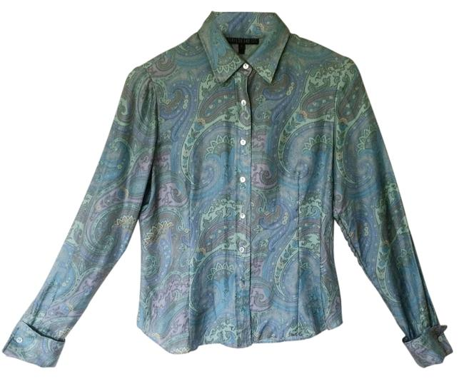 Preload https://item2.tradesy.com/images/lafayette-148-new-york-silk-blouse-vintage-button-down-top-size-4-s-14889196-0-1.jpg?width=400&height=650