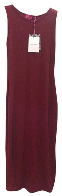wine Maxi Dress by Other