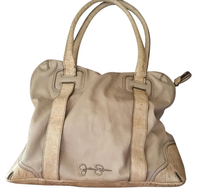 Item - Gray Faux Leather Tote