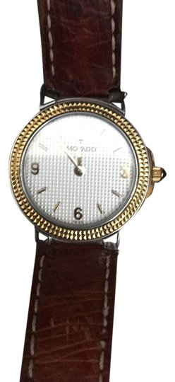 Preload https://item5.tradesy.com/images/movado-brown-ostrich-band-watch-14890099-0-1.jpg?width=440&height=440