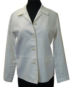 Style & Co Linen white Jacket