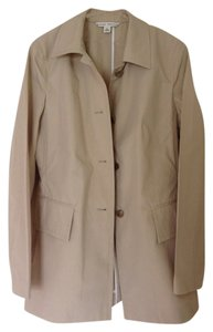Banana Republic Unlined Lightweight 100% Cotton beige Blazer