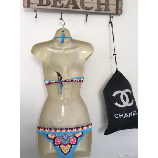 Other Vibrant colors two piece bikini. With removable pads.