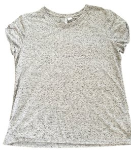 H&M T Shirt Gray with black spots