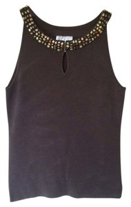 Ann Taylor LOFT Sleeveless Top brown