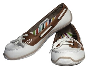 Dr. Scholl's Sku8378593 white with tan top Flats