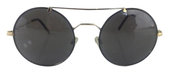 Preload https://img-static.tradesy.com/item/14891533/betsey-johnson-blackgold-round-sunglasses-0-17-540-540.jpg