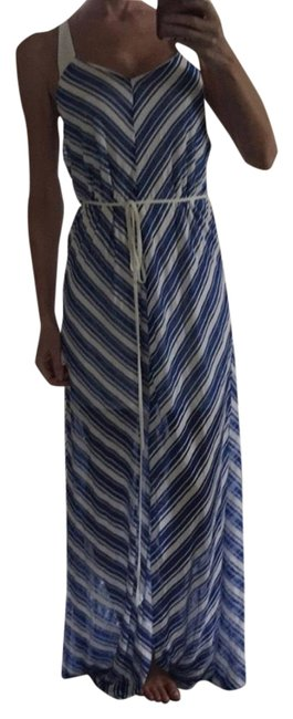 Preload https://item5.tradesy.com/images/marineblu-blue-and-white-striped-long-casual-maxi-dress-size-8-m-14891944-0-3.jpg?width=400&height=650