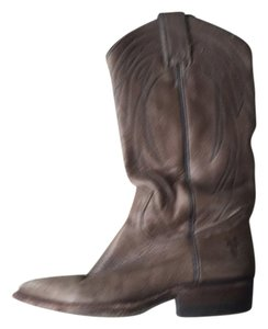 Frye Leather Distressed Boots