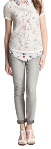 Vince Camuto Capri/Cropped Denim-Light Wash