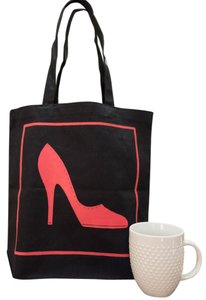 kc Shoe Work Shopping Booktote Tote in BLACK