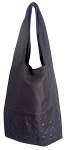 Twelfth St. by Cynthia Vincent Leather Soft Tote in Grey