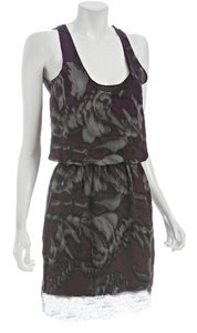 Robert Rodriguez Racer-back Lace Designer Dress