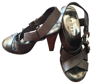 Theory Leather brown Sandals