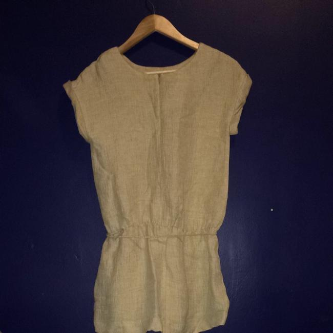Zara short dress Beige on Tradesy