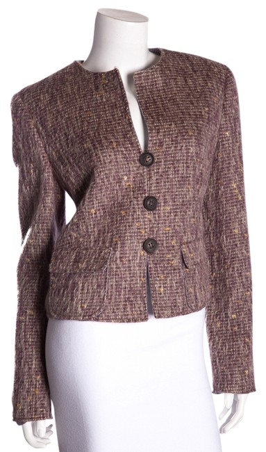 Preload https://item1.tradesy.com/images/giorgio-armani-mauve-mohair-size-10-m-14892415-0-1.jpg?width=400&height=650