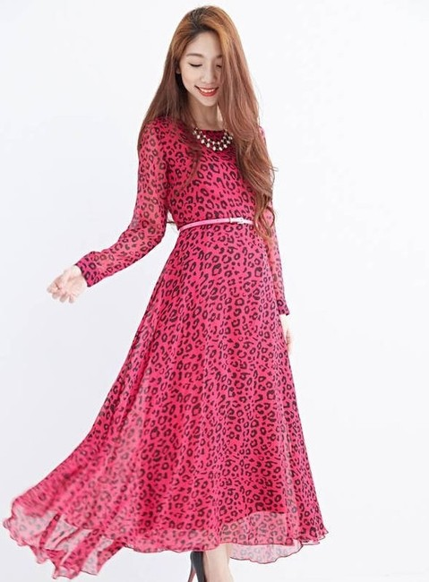 Fuschia Maxi Dress by TW Steel