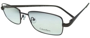 Calvin Klein New CALVIN KLEIN Rx-able Eyeglasses CK 7486 210 53-17 Brown Frame w/ Clear Lenses