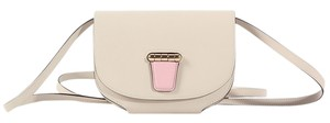 Hermès White Pink Mini Rose Cross Body Bag