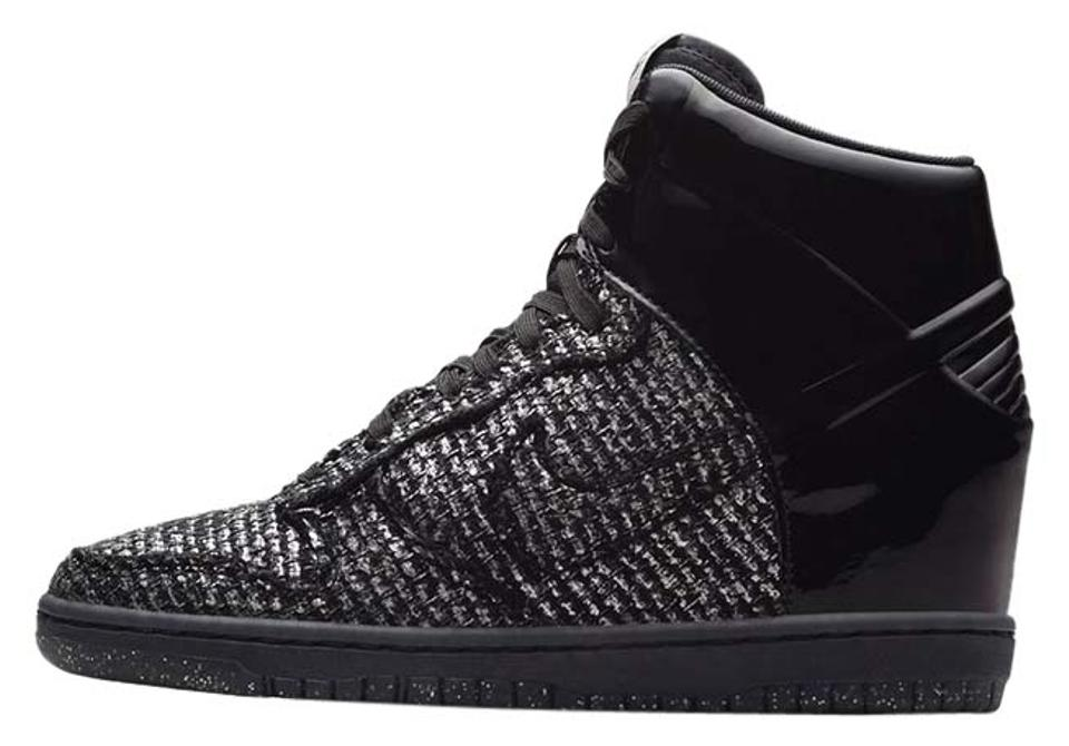 d19503bacf Nike Black 'dunk Sky Hi Vt' - New Year's Eve Wedges Size US 9 ...
