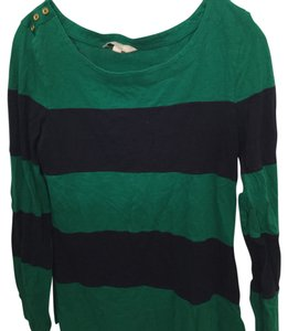 Banana Republic T Shirt Green and navy