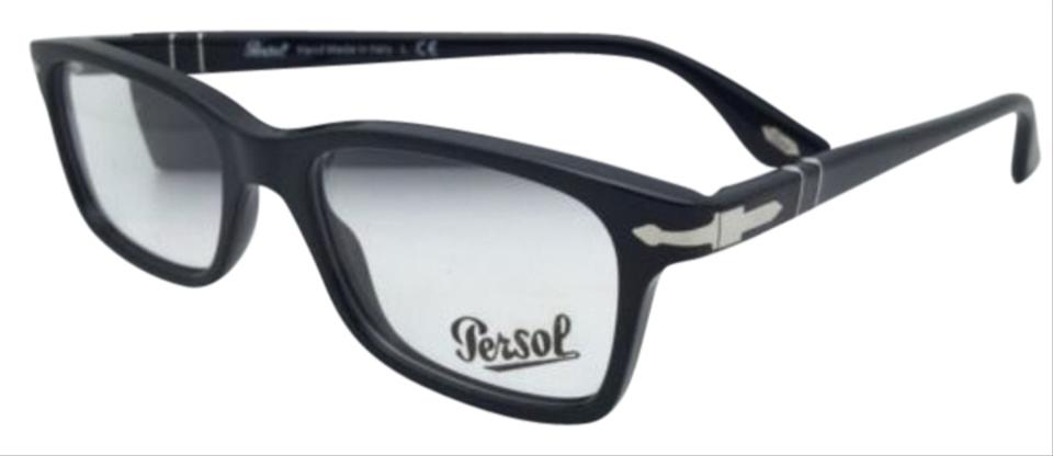 5dbee1130c Persol 3030-v 95 Black Frame W  Clear Lenses New Rx-able Eyeglasses ...