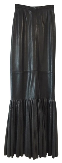 Preload https://item1.tradesy.com/images/alaia-black-leather-mermaid-maxi-skirt-size-6-s-28-14894290-0-3.jpg?width=400&height=650