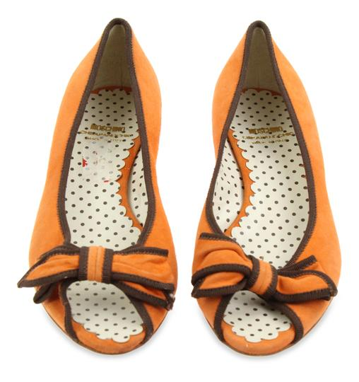 Moschino Orange Pumps Image 1
