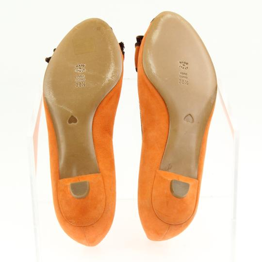 Moschino Orange Pumps Image 10
