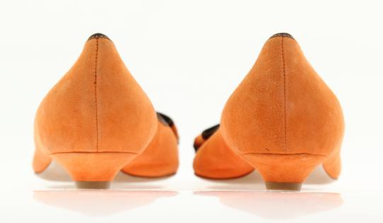 Moschino Orange Pumps Image 2