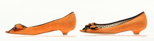 Moschino Orange Pumps Image 3