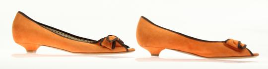 Moschino Orange Pumps Image 4