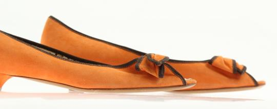 Moschino Orange Pumps Image 6