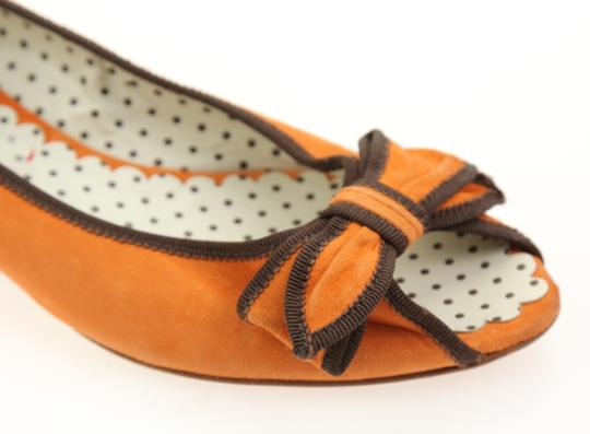 Moschino Orange Pumps Image 7