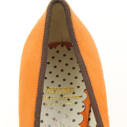 Moschino Orange Pumps Image 8