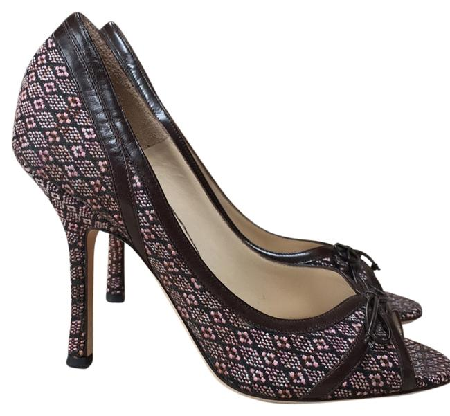 Jimmy Choo Soft Blends Of Very Light Pink and Brown. Formal Shoes Size US 7.5 Regular (M, B) Jimmy Choo Soft Blends Of Very Light Pink and Brown. Formal Shoes Size US 7.5 Regular (M, B) Image 1