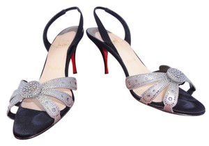 Christian Louboutin Crystal Black Pumps