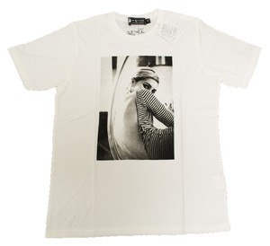 Hysteric Glamour Women's Medium Edie Sedgwick T Shirt White