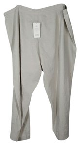 Eileen Fisher Capri/Cropped Pants Beige