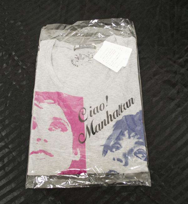 Hysteric Glamour Women's T-shirt Andy Warhol T Shirt Gray