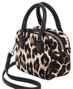 Tory Burch Satchel in Leopard