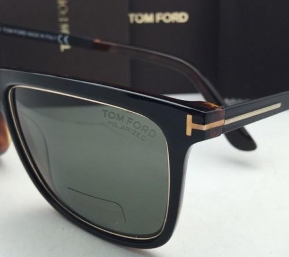4ce0dff9ae242 Tom Ford Polarized TOM FORD Sunglasses KARLIE TF 392 01R 57-17 Black    Gold. 123456789101112