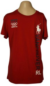 Ralph Lauren Cotton T Shirt Red