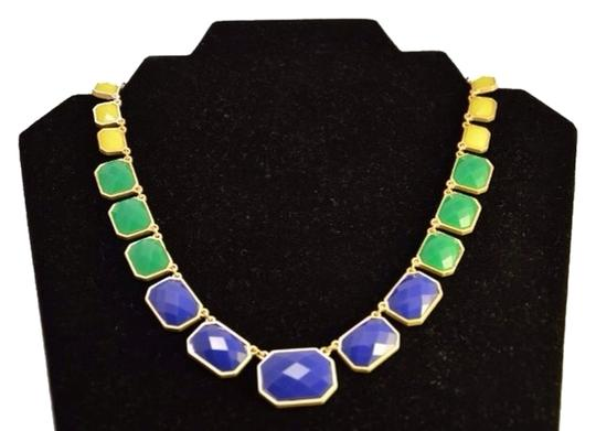 Other Yellow + Blue = Green Statement Necklace