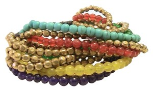 Other Multi Gemstone Beaded Bracelet