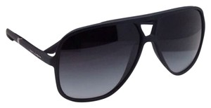 Dolce&Gabbana New DOLCE & GABBANA Sunglasses DG 6081 2616/8G 60-11 Black Frame w/ Grey gradient lenses