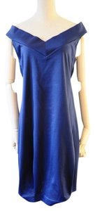 Prada short dress blue on Tradesy