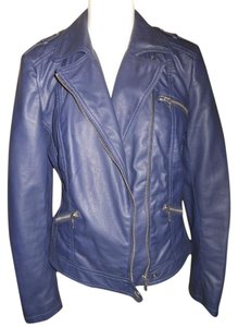 INC International Concepts Faux Leather Motorcycle Jacket